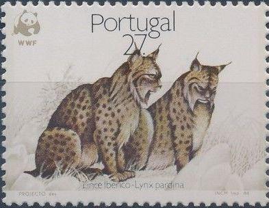 Portugal 1988 WWF Iberian Lynx (Lynx pardina) c.jpg