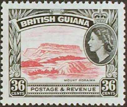 British Guiana 1954 Elizabeth II and Local Scenes j.jpg