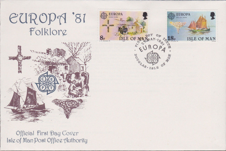 Isle of Man 1981 Europa