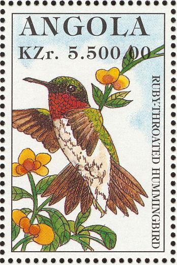 Angola 1996 Hummingbirds l.jpg