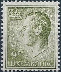 Luxembourg 1975 Grand Duke Jean