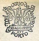 Portugal 1959 Millennium and Bicentennial of Aveiro City PMb.jpg