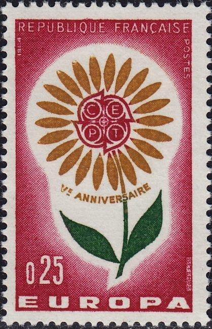 France 1964 Europa
