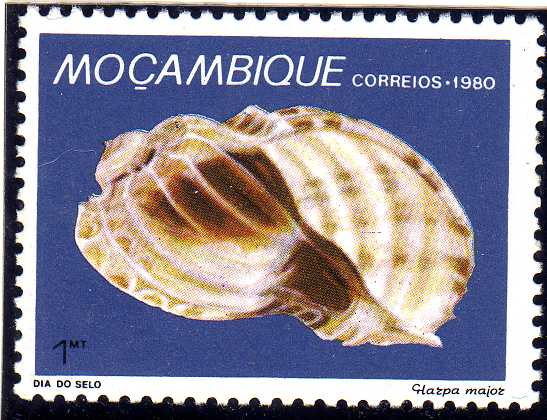 Mozambique 1980 Stamp Day - Maritime Shells of Mozambique