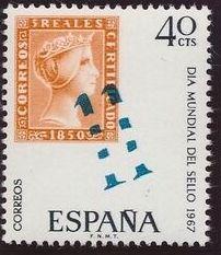 Spain 1967 International Stamp Day