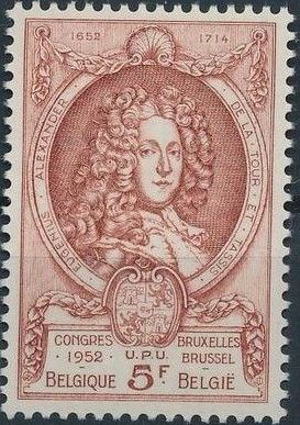 Belgium 1952 World Post Congress g.jpg
