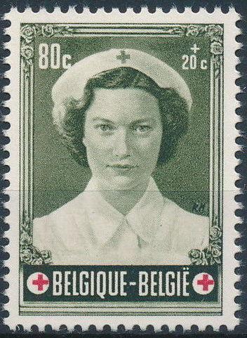 Belgium 1953 Belgian Red Cross