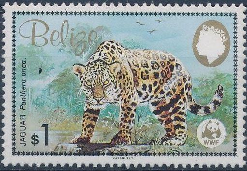 Belize 1983 WWF - Jaguar d.jpg