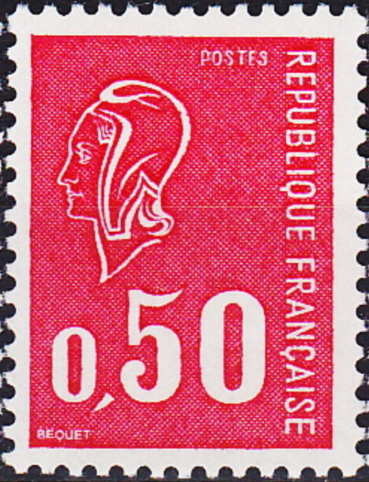France 1971 Marianne de Béquet (1st Issue) a.jpg