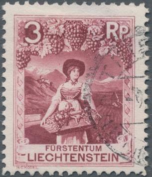 Liechtenstein 1930 Landscapes