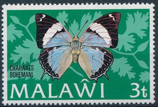 Malawi 1973 Butterflies