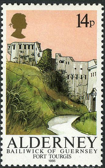 Alderney 1986 Alderney Forts b.jpg