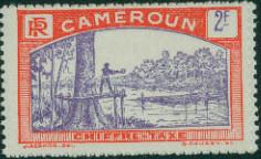 Cameroon 1925 Man Felling Tree l.jpg