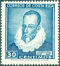 Costa Rica 1947 400th Birth Anniversary of Cervantes