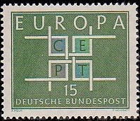 Germany, Federal Republic 1963 Europa
