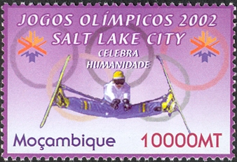 Mozambique 2002 Olympic Winter Games 2002 - Salt Lake City
