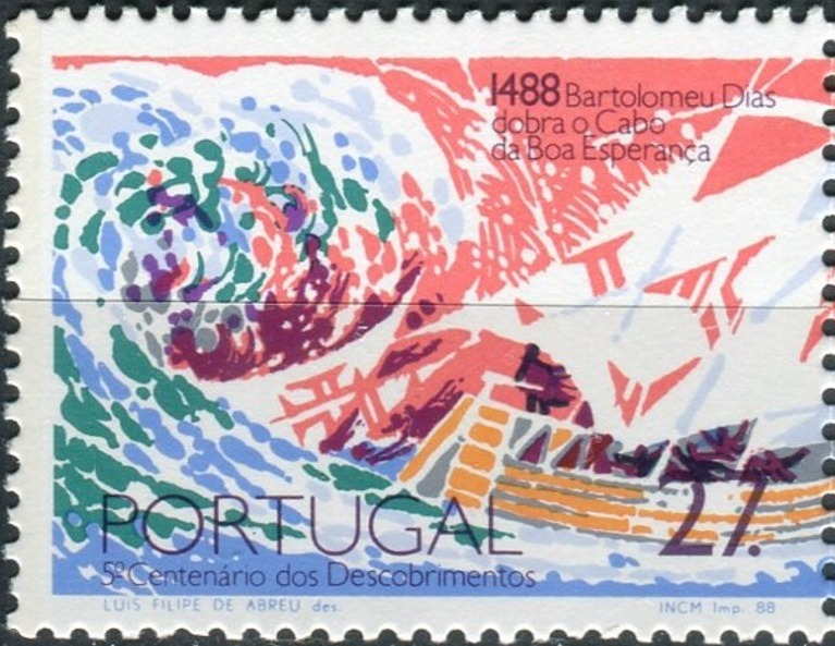 Portugal 1988 500th Anniversary of the Voyages of Bartolomeu Dias
