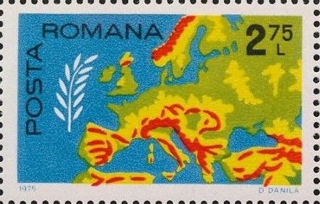 Romania 1975 Conference on Security and Cooperation in Europe