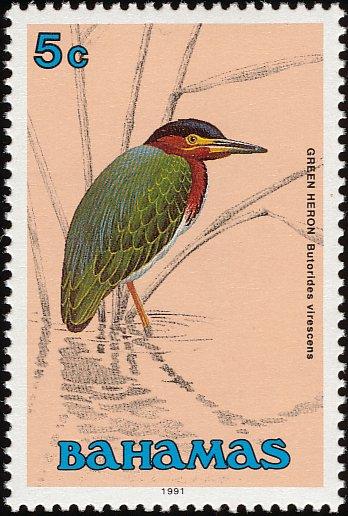 Bahamas 1991 Birds