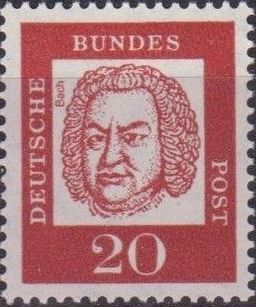 Germany, Federal Republic 1961 Famous Germans f.jpg