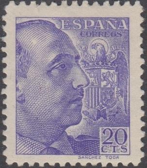 Spain 1939 General Franco - 1st Group