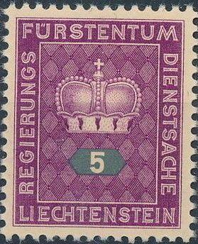 Liechtenstein 1950 Crown