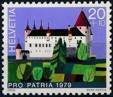 Switzerland 1979 PRO PATRIA - Castles