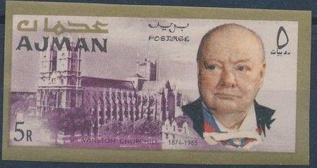 Ajman 1966 Winston Churchill o.jpg