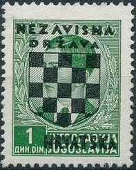 Croatia 1941 Peter II of Yugoslavia Overprinted in Black c.jpg