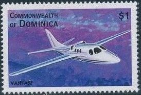 Dominica 1998 Modern Aircrafts w.jpg