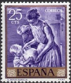 Spain 1964 Painters - Joaquin Sorolla y Bastida