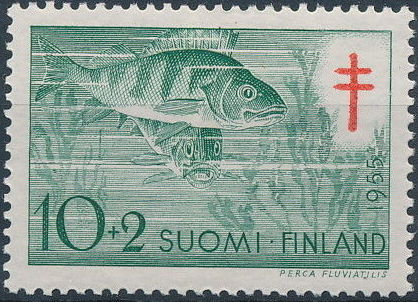 Finland 1955 Fight against Tuberculosis