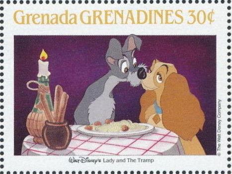 Grenada Grenadines 1988 The Disney Animal Stories in Postage Stamps 5f.jpg
