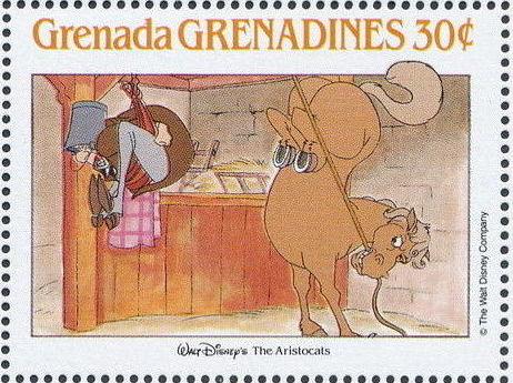 Grenada Grenadines 1988 The Disney Animal Stories in Postage Stamps 6i.jpg