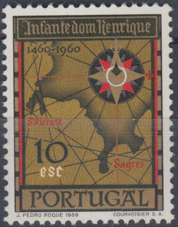 Portugal 1960 500th Anniversary of the Death of Prince Henrique the Sailor f.jpg