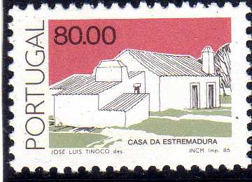 Portugal 1986 Portuguese Popular Architecture (2nd Group) c.jpg