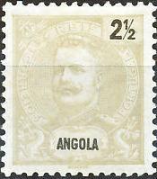 Angola 1898 D. Carlos I