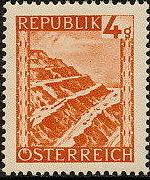 Austria 1946 Landscapes (II)