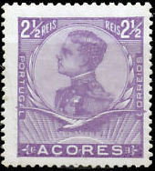 Azores 1910 D. Manuel II