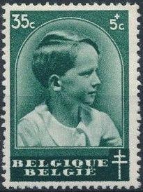 Belgium 1936 National Anti-Tuberculosis Society - Prince Boudewijn c.jpg