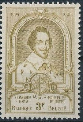 Belgium 1952 World Post Congress e.jpg