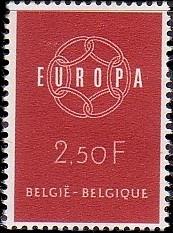 Belgium 1959 Europa