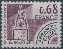 France 1979 Historic Monuments - Pre-cancelled (1st Issue)