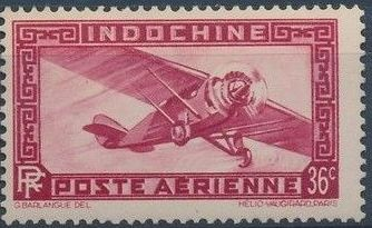 Indo-China 1933 Airmail - With Inscription RF h.jpg