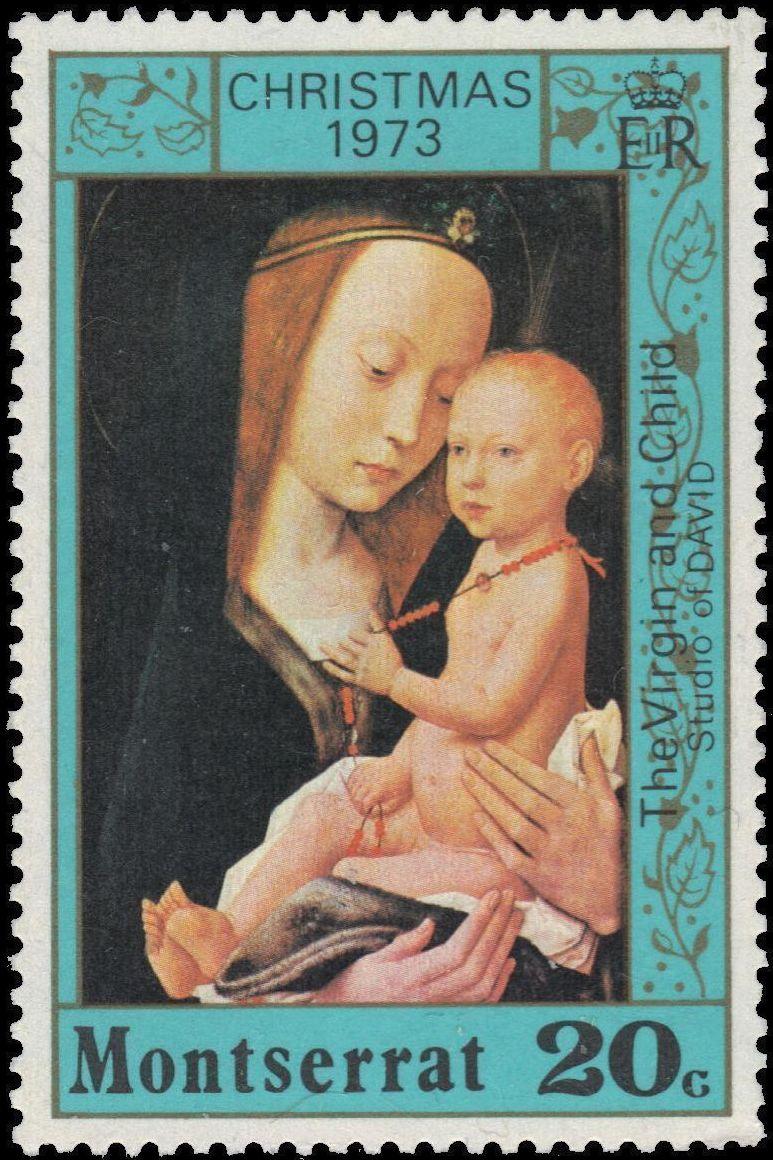 Montserrat 1973 Christmas