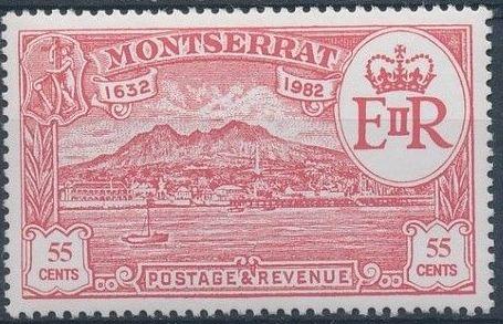 Montserrat 1982 350th Anniversary of Settlement of Montserrat by Sir Thomas Warner b.jpg