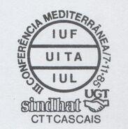 Portugal 1985 II Mediterranean Conference-IUT UITA IUL PMa