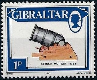 Gibraltar 1987 Guns and Artillery