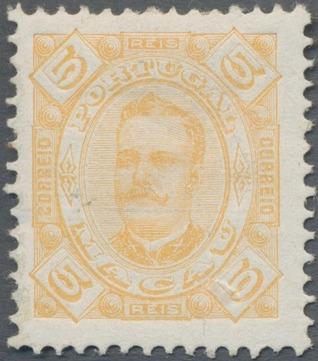Macao 1894 Carlos I of Portugal