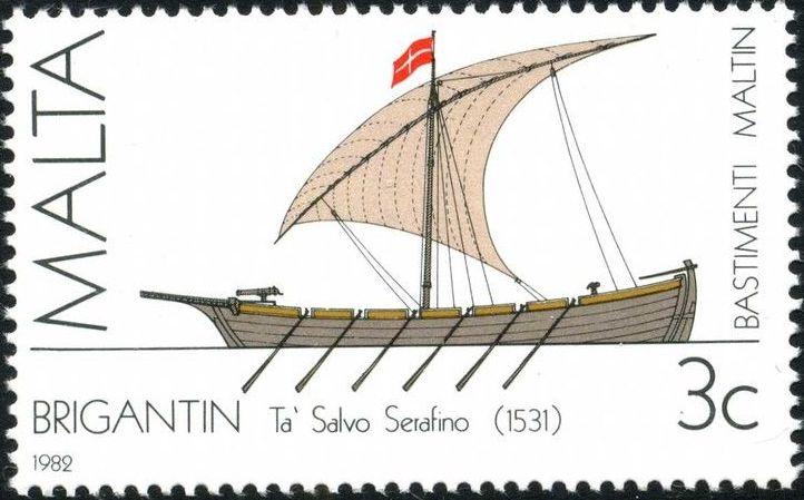 Malta 1982 Maltese Ships (1st Series)